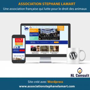 Wordpress Association Stéphane Lamart