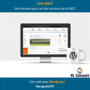 Wordpress LEA SNCF