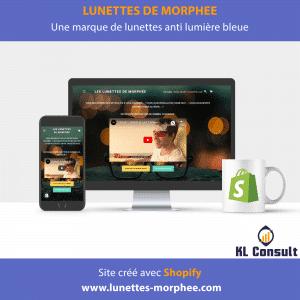Shopify Lunettes de Morphée